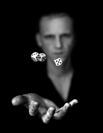 Gambler in the dark